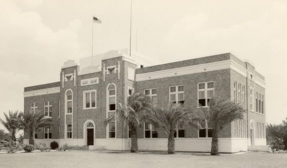 1920's Zavala County Courthouse