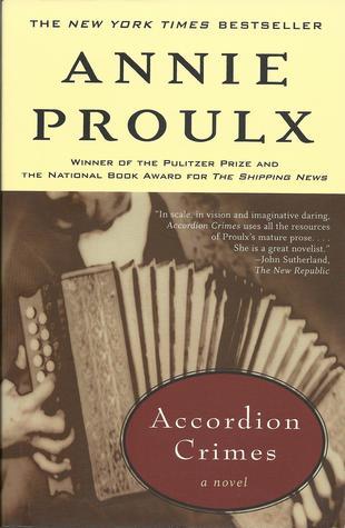 Accordion Crimes book cover