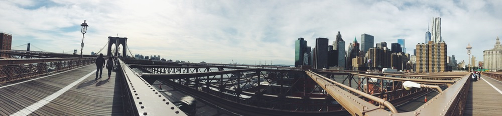 Brooklyn Bridge & Skyline