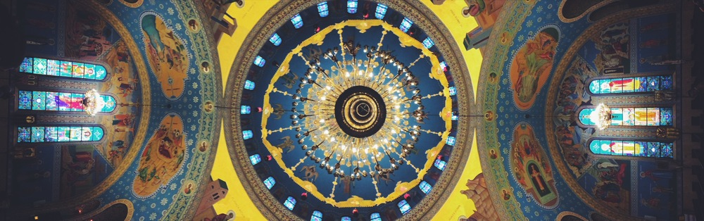 Sts. Volodymyr & Olha Ukrainian Catholic Church's Ceiling