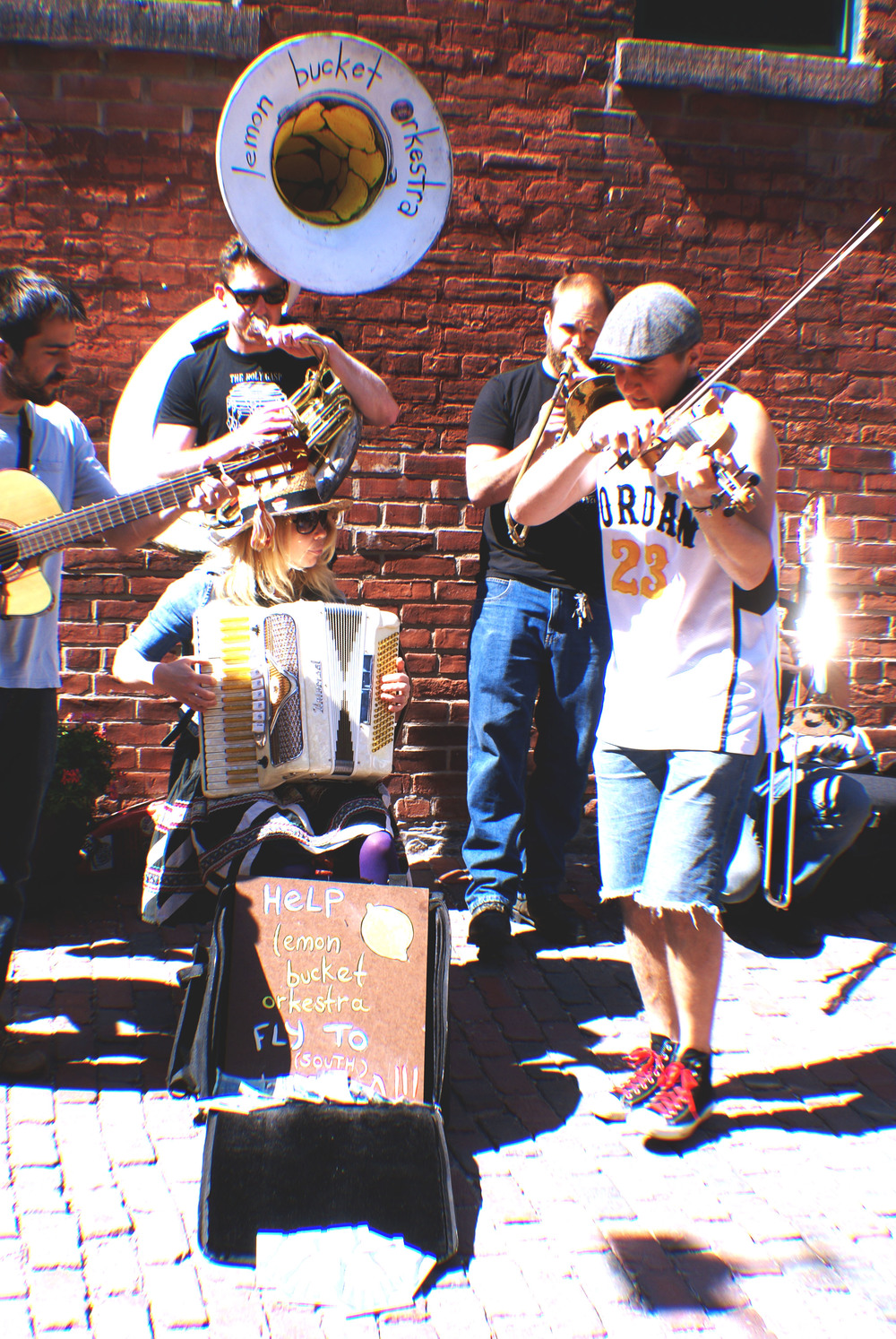 https://soundcloud.com/lemonbucket - Toronto based Gypsy band at the Distillery District