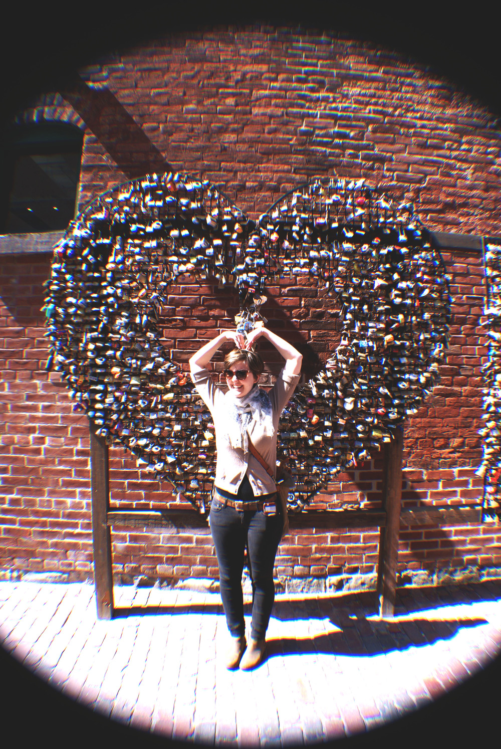 Distillery District Art Installation
