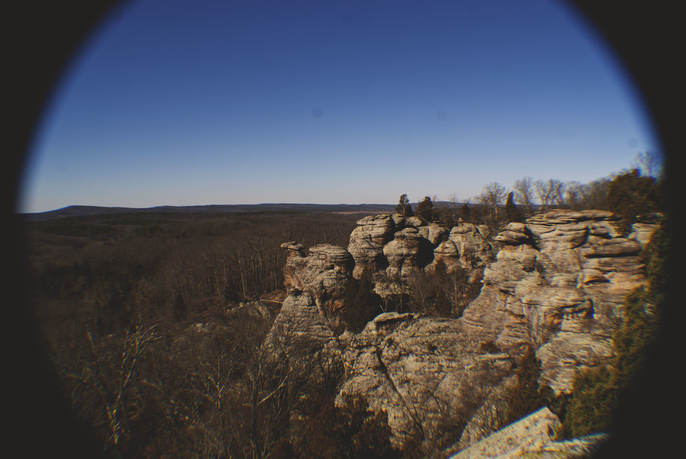 a quick road trip down to southern illinois to climb some rocks check out the garden of the gods inside of the shawnee national forest - Shawnee National Forest Garden Of The Gods