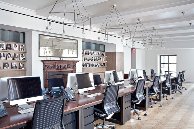 De cardenas styles the office of ford project knstrct for Interior design office new york