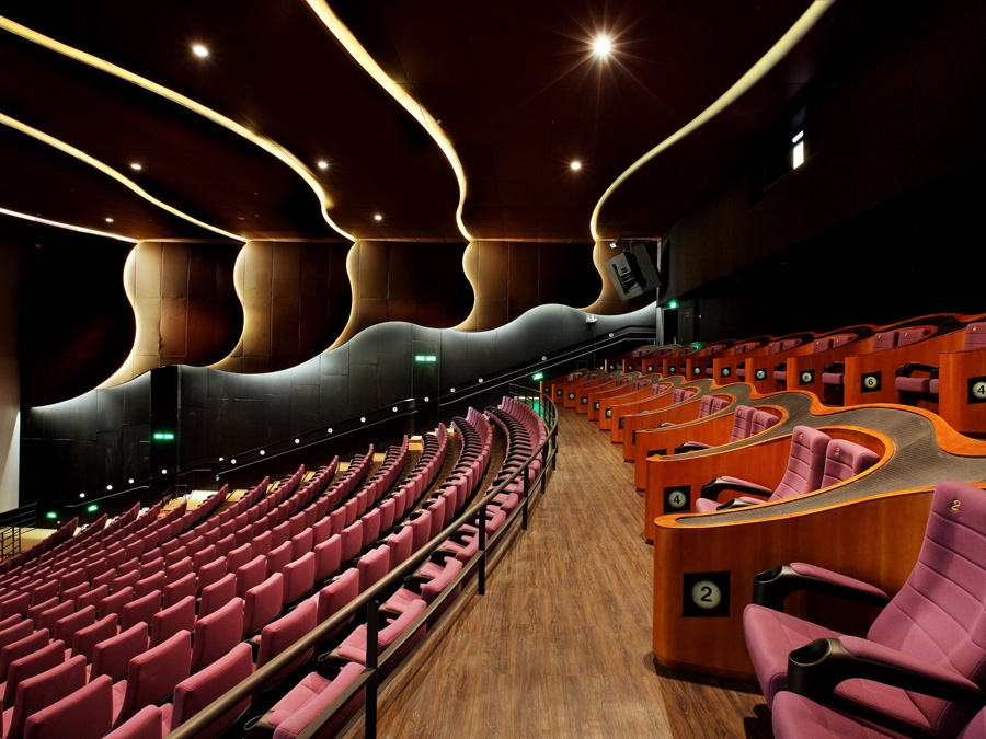 Hangzhou broadway cinemas knstrct for Modern home decor hangzhou