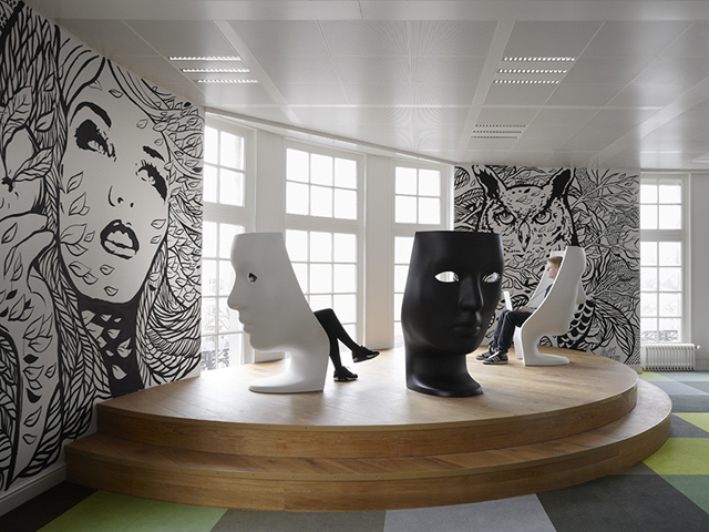 JWT Office in Amsterdam by Alrik Koudenburg RJW Elsinga