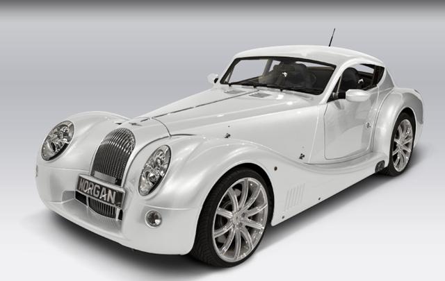 The New Morgan Aero Coupe 2012 Knstrct