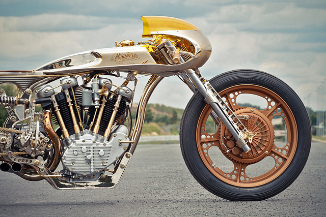 The Thunderbike Named The 2012 Amd World Championship Of Custom Bike Building Knstrct