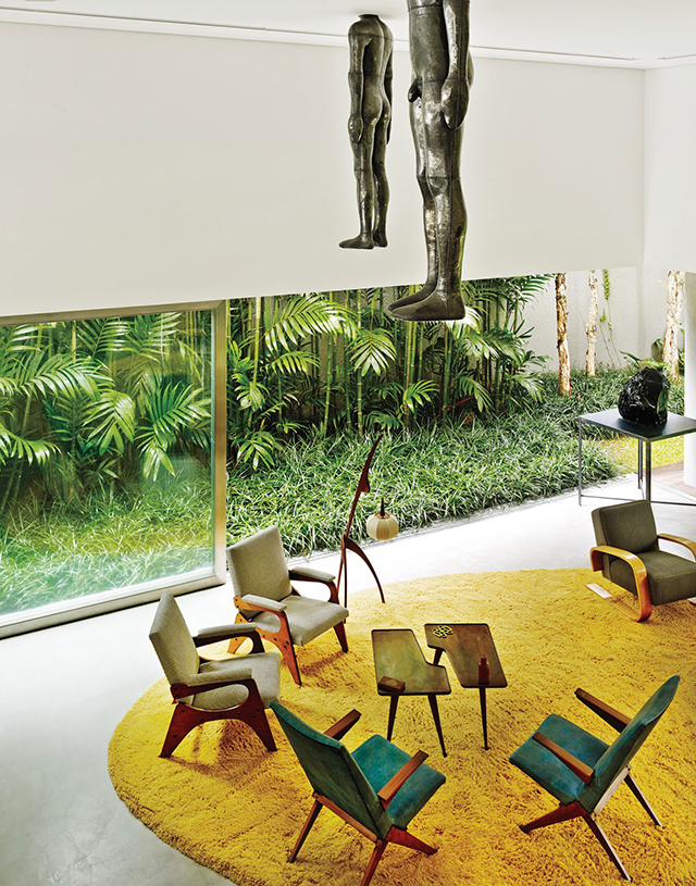 A Well Curated Home Isay Weinfeld Designs Casa Cubo Knstrct