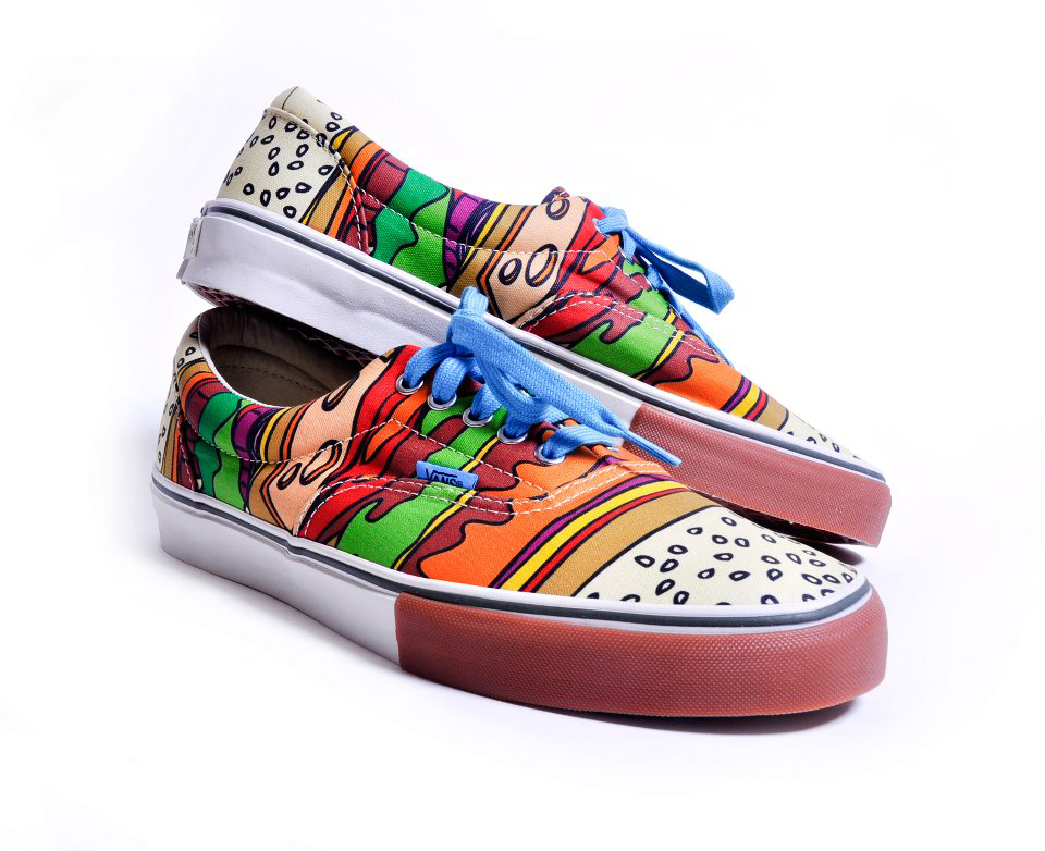 limited edition vans sneakers