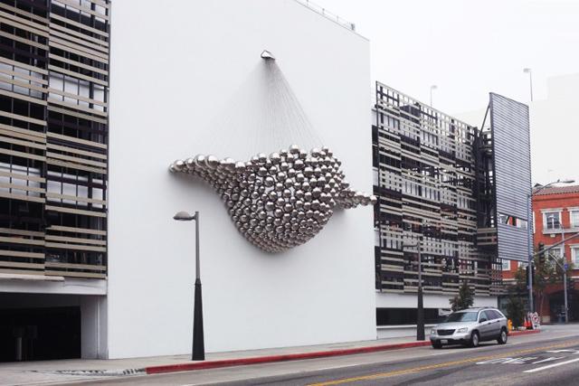 Cradle An Art Instillation In Santa Monica Knstrct