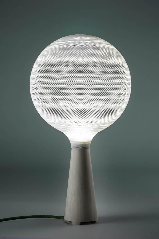afillia 3d printed light pendants knstrct. Black Bedroom Furniture Sets. Home Design Ideas