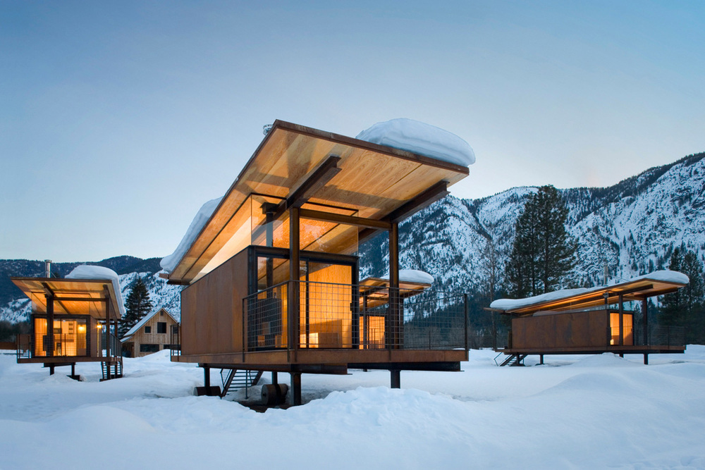 Rolling Huts Hotel | Washington, USA