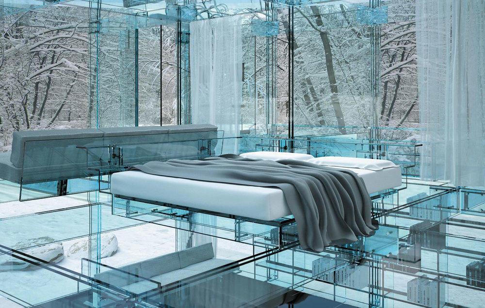 Glass Houses by Santambrogio Milano