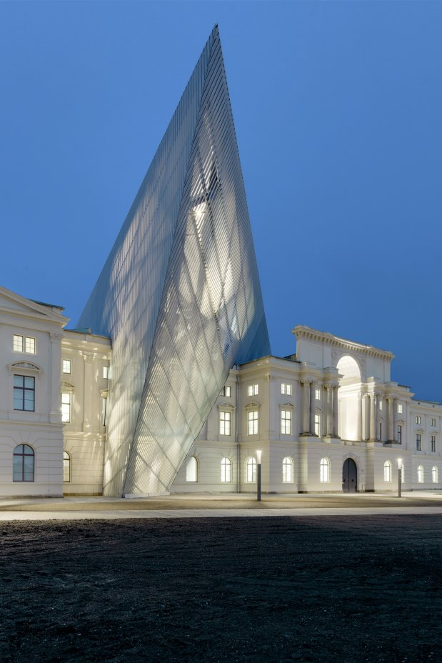 Germany 39 s museum of military history knstrct for Daniel libeskind architectural style