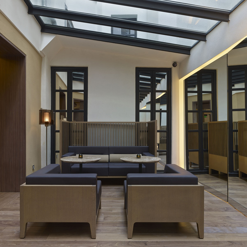 Hotel de nell paris knstrct for Design hotels of france