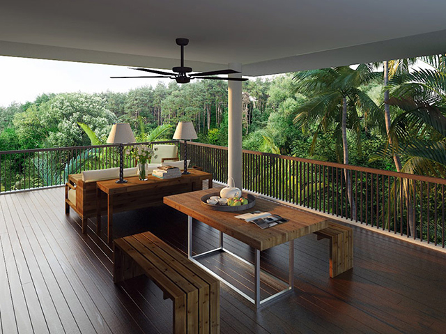 The new terrace tree villas at alila ubud bali knstrct for Terrace trees