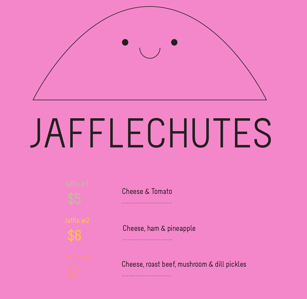 Jafflechutes float-down restaurant Melbourne and New York City
