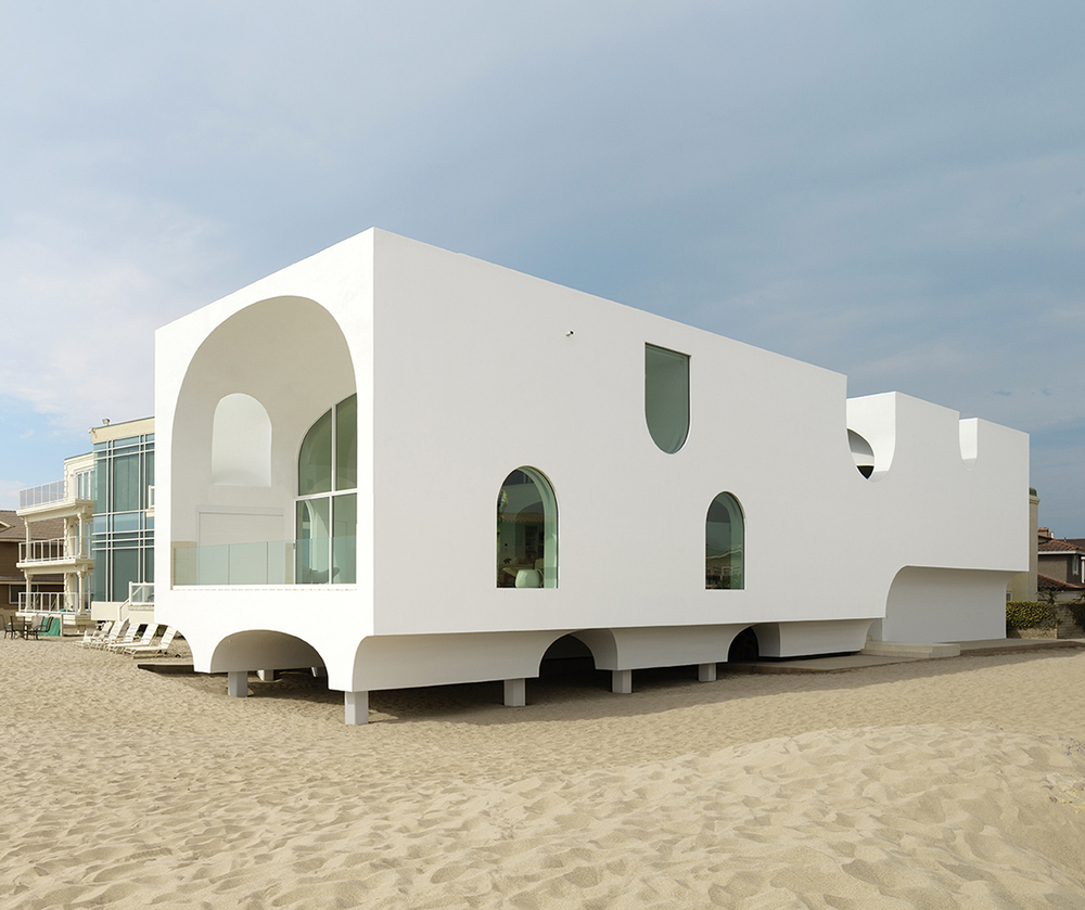Beachside boolean the vault house knstrct for Modern homes southern california