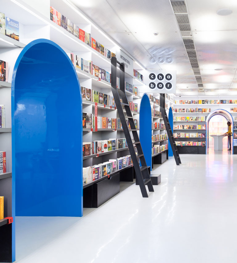 Oxford Bookstore by Normal Studio in New Delhi