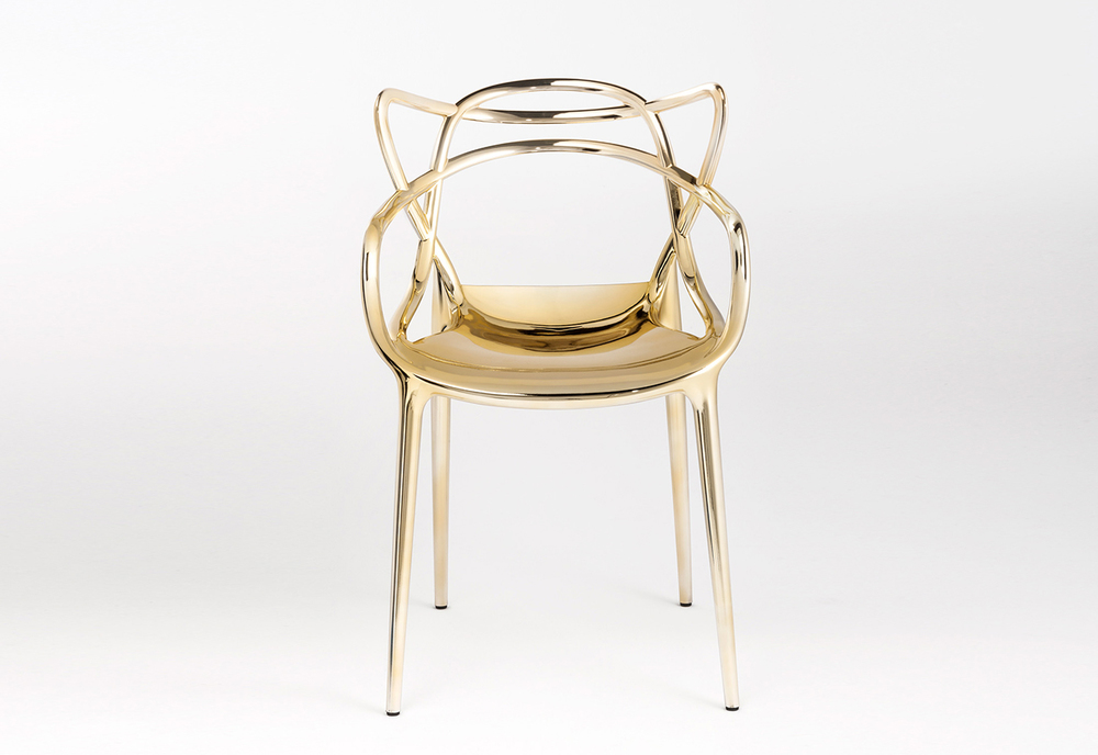 Merveilleux Kartell Gold Masters Chair By Philippe Starck Salone Del Mobile 2014
