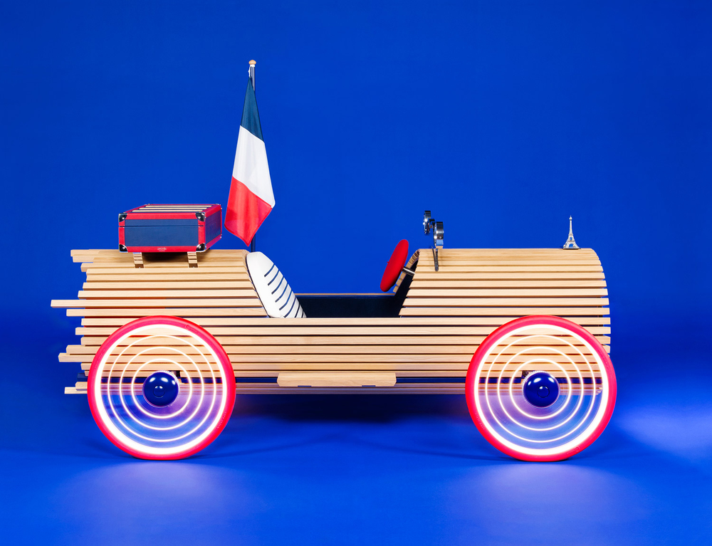 Renault miniature car dealership Exposition Atelier Paris 2014