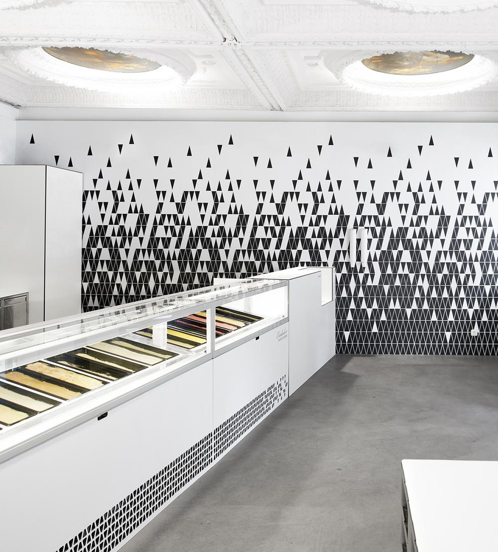 Austria s sweet tooth eisdieler ice cream parlor knstrct for Design shop deutschland