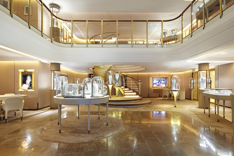 Gold dust van cleef arpels 39 new york boutique knstrct for Jewelry stores in new york ny