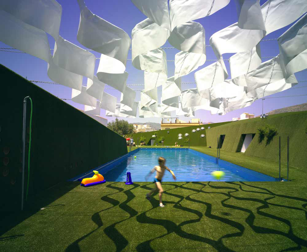 ... Spain Lobres City Public Swimming Pool By DJ Arquitectura ...
