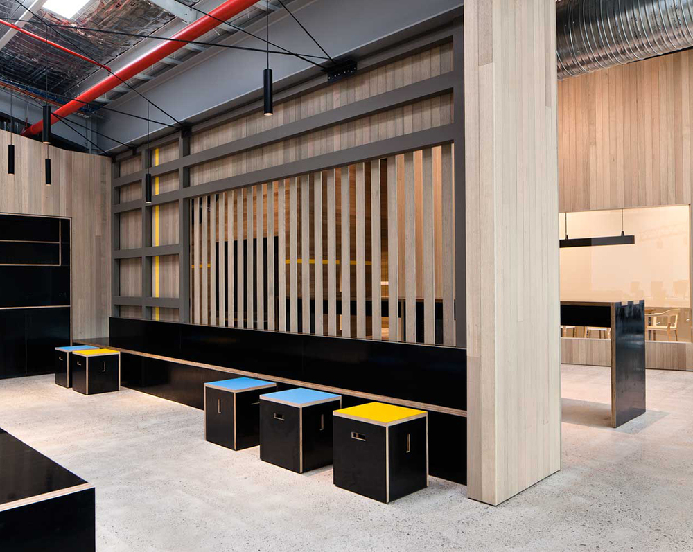 Goodman Office by MAKE Creative Sydney Design