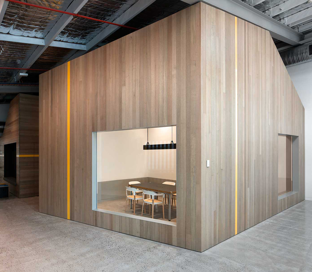 The Sculptural Shell Goodman Office By MAKE Creative