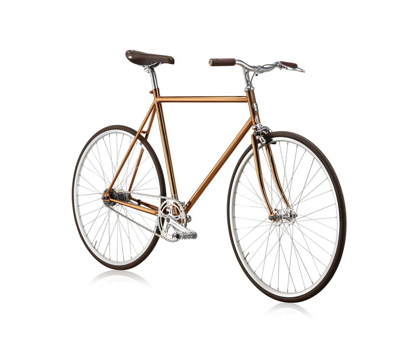 BIKE ID NYC Diamond Limited Edition Bicycle Copper
