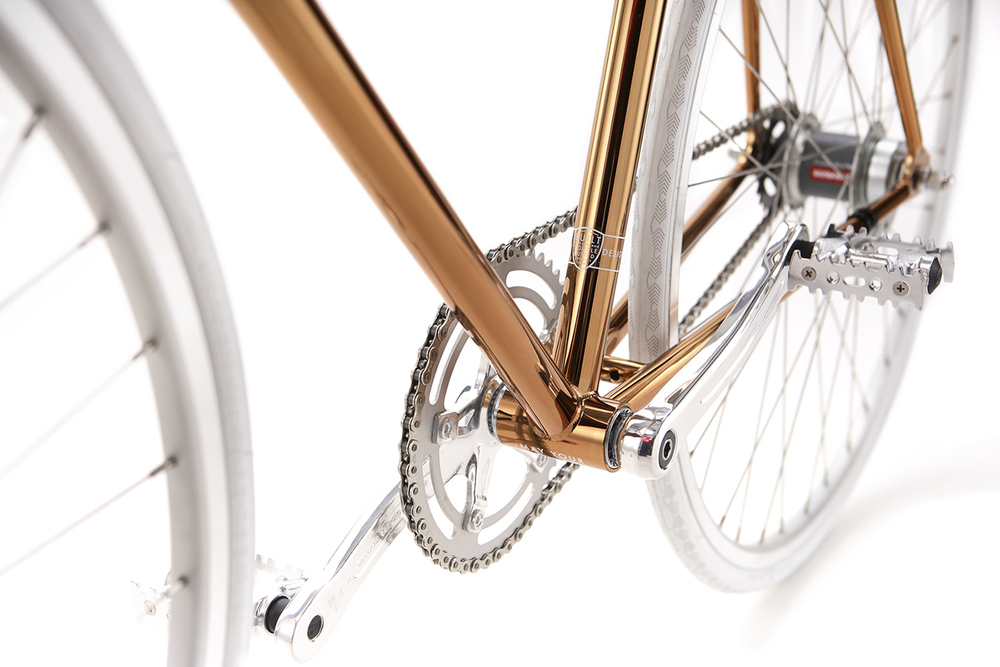 BIKE-ID NYC Diamond Limited Edition Bicycle Copper