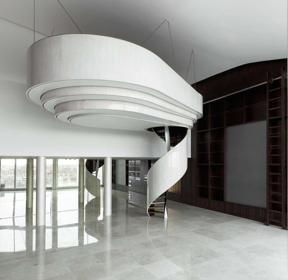 Riverloft Apartments: Suspended Pod: Riverside Apartment By Foster Lomas