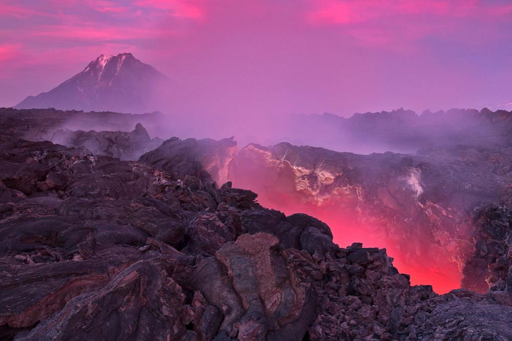 Ski the Kamchatka Volcano in Russian travel Adventures