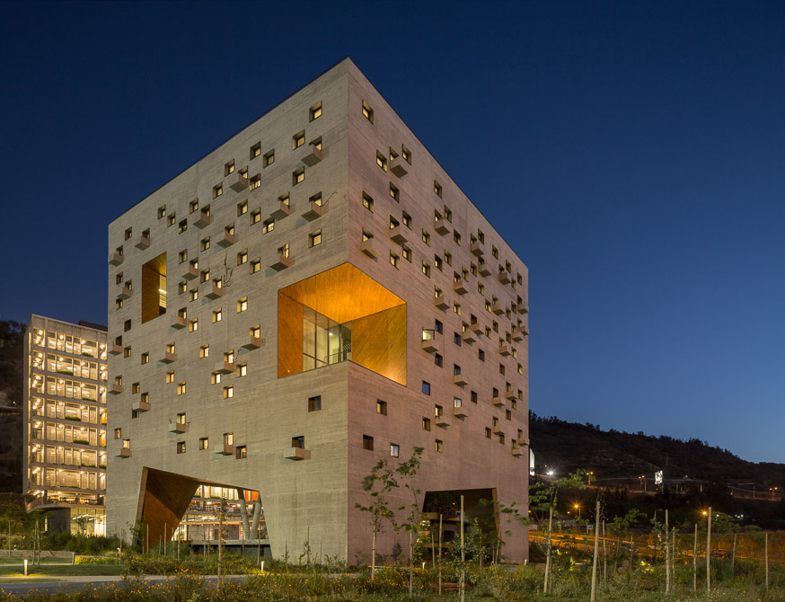 UDP Economics Building Duque Motta Santiago Chile Architecture