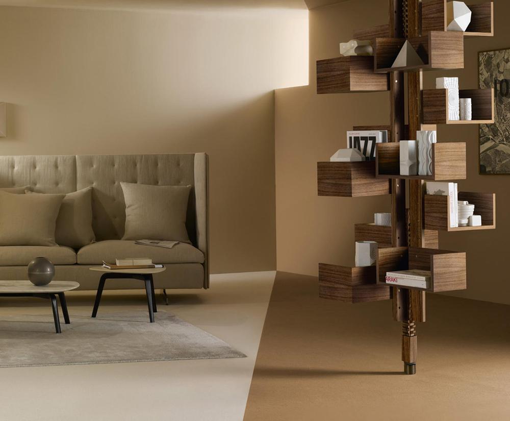 Albero Freestanding Bookcase Poltrona Frau Gianfranco Frattini Furniture Design