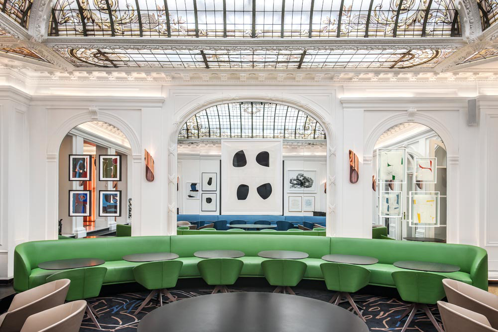 Dialoguing with the past agence fran ois champsaur for Hotel designer paris