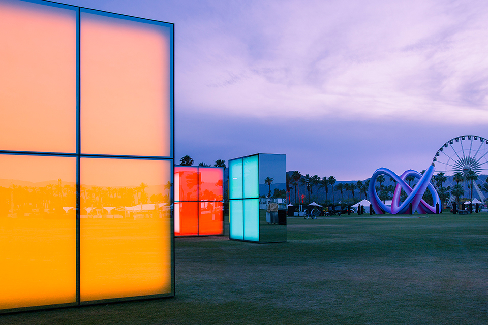 Reflection Field Coachella 2014 Art Phillip K Smith