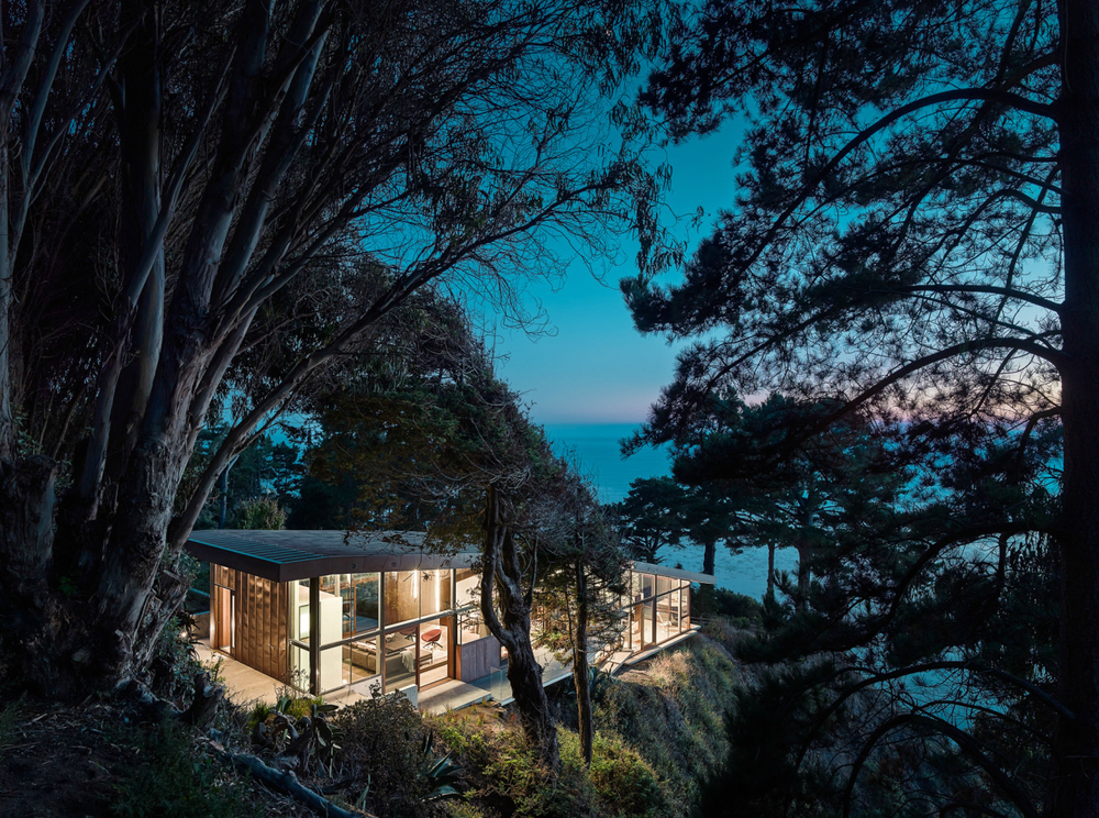 Fall House by Fougeron Architecture in Big Sur California