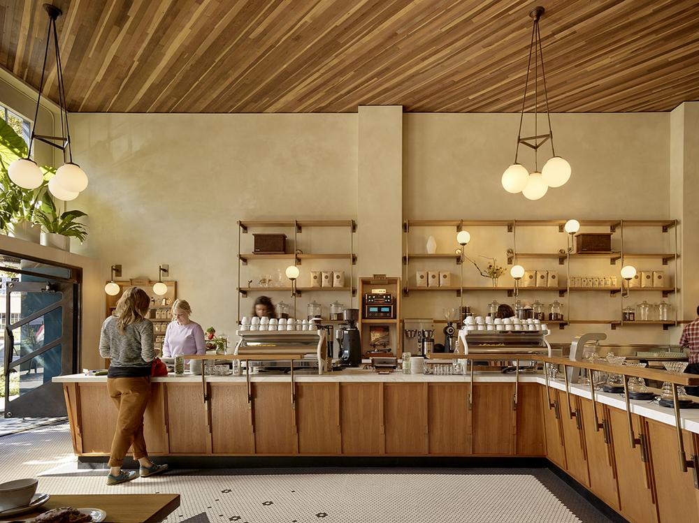 san francisco coffe shop: