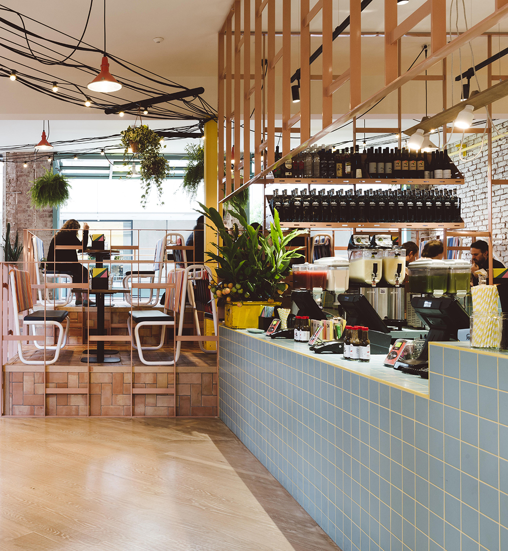 Fonda Mexican Restaurant Melbourne designed by Techne Architects