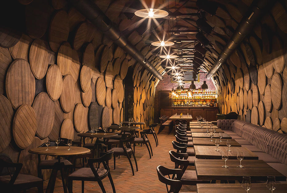 Barrel Bottoms & Brandy Bottles: Shustov Brandy Bar