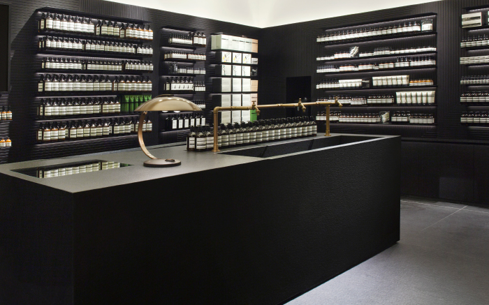 Aesop Store in Stuttgart Germany designed by einszu33