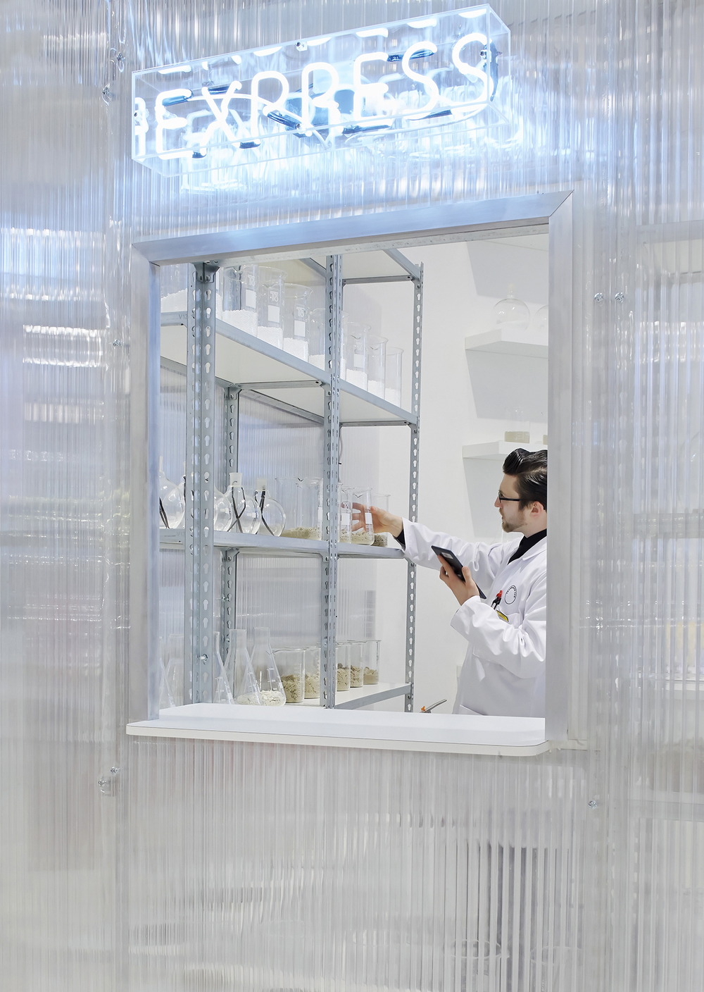 Fragrance Lab at Selfridges designed by Future Laboratory