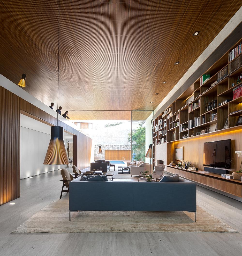 House in san paulo designed by architect marcio kogan of mk27 studio