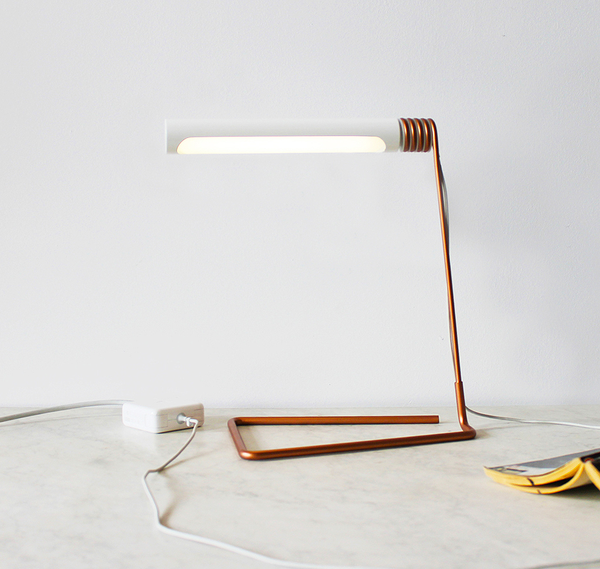 Coil Lamp by Castor Design, 2014 Canada