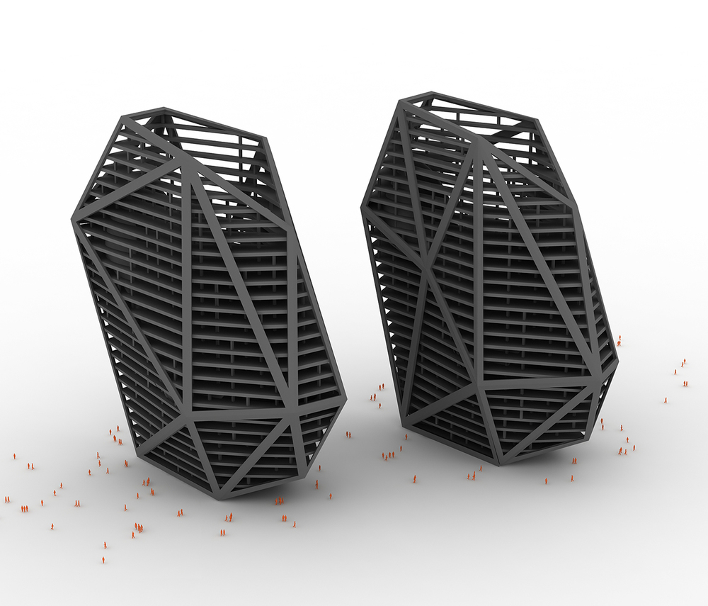 United Nude 3D Printed Highrise Shoes by Rem D. Koolhaas