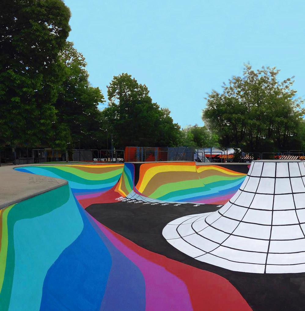 Skate Through Gallery: Zuk Club's Swiss Skate Park ...