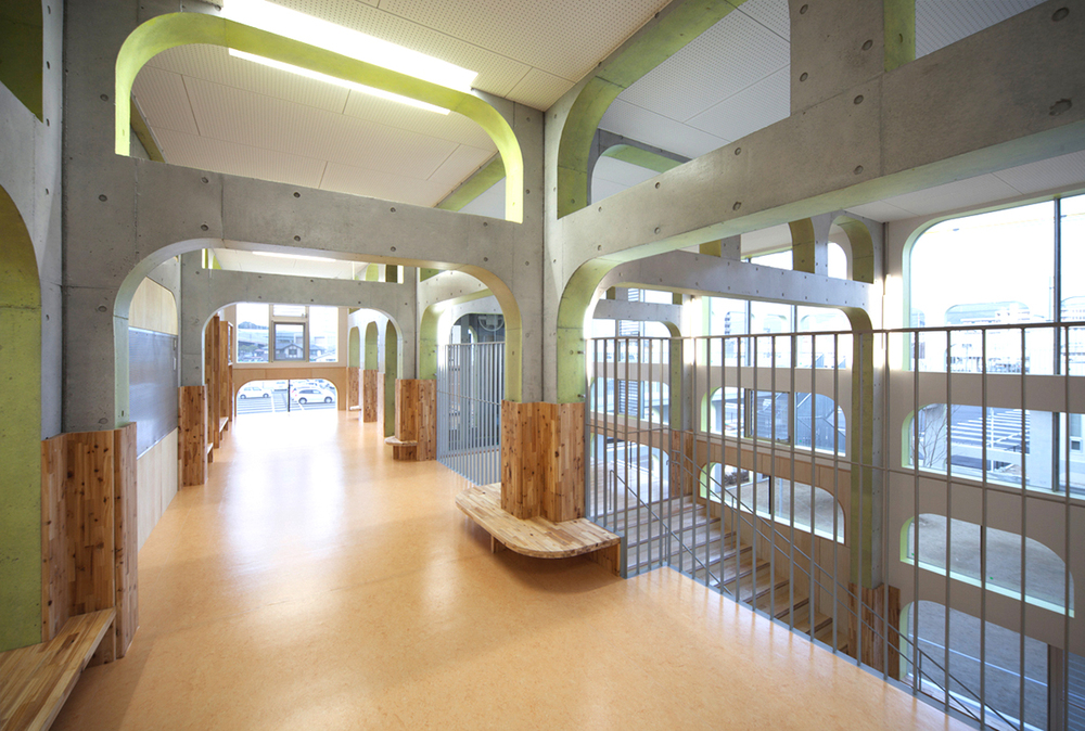 K Kindergarten by NKS Architects in Fukuoka, Japan